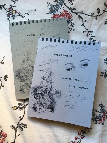 Image of Vague Pages Sketchbook Zine