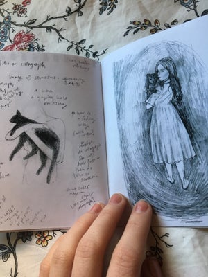 Image of Vague Pages Sketchbook Zine