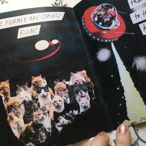 Image of Space Cats zine
