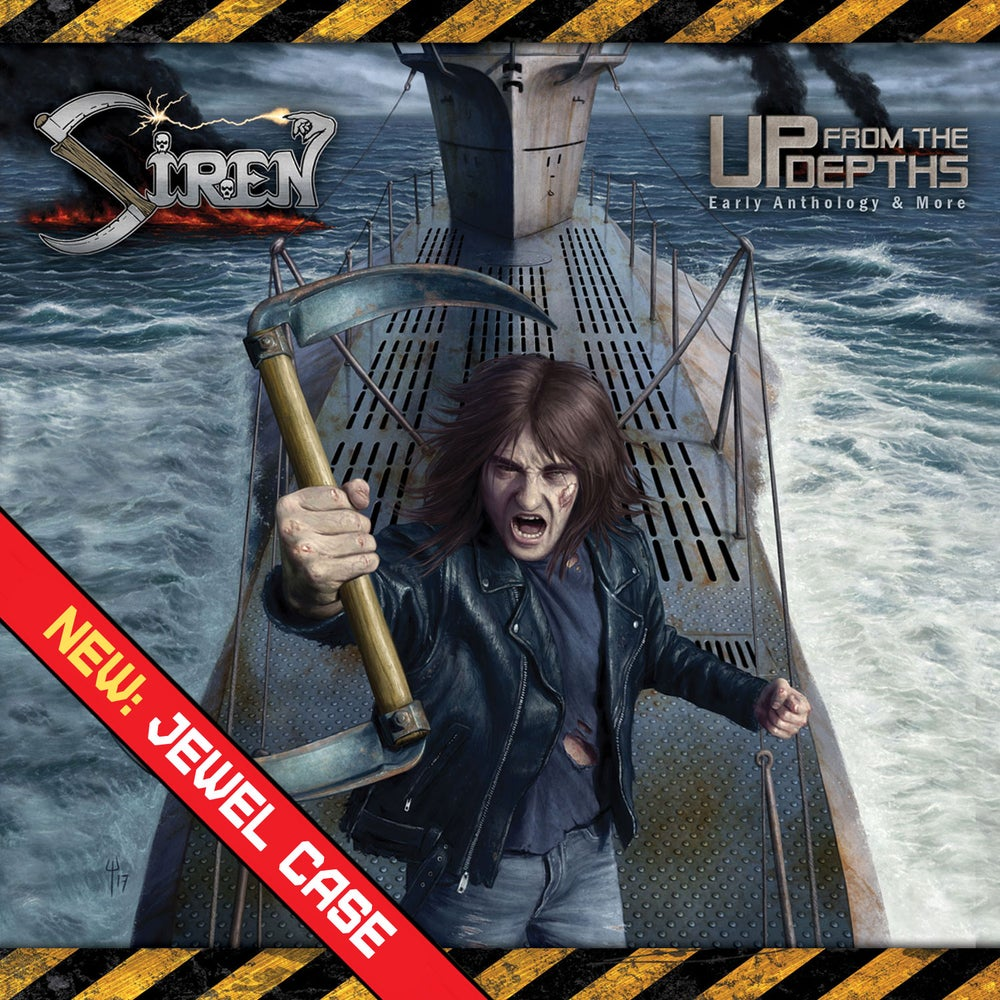 SIREN - Up From the Depths: Early Anthology and More 2CD Jewel Case