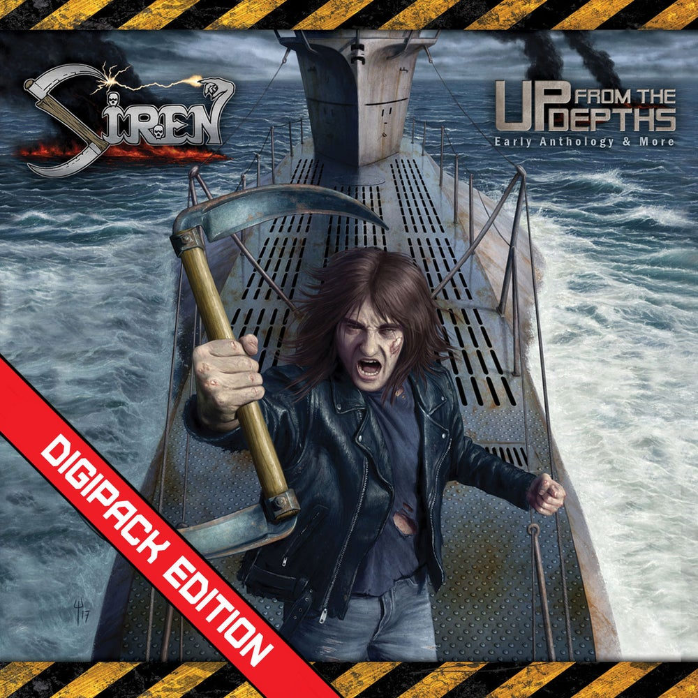 SIREN - Up From the Depths: Early Anthology and More 2CD Digipack
