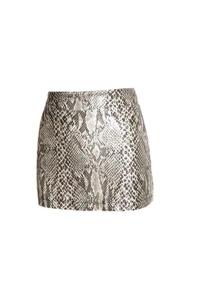 Image of Mini Snake Skirt