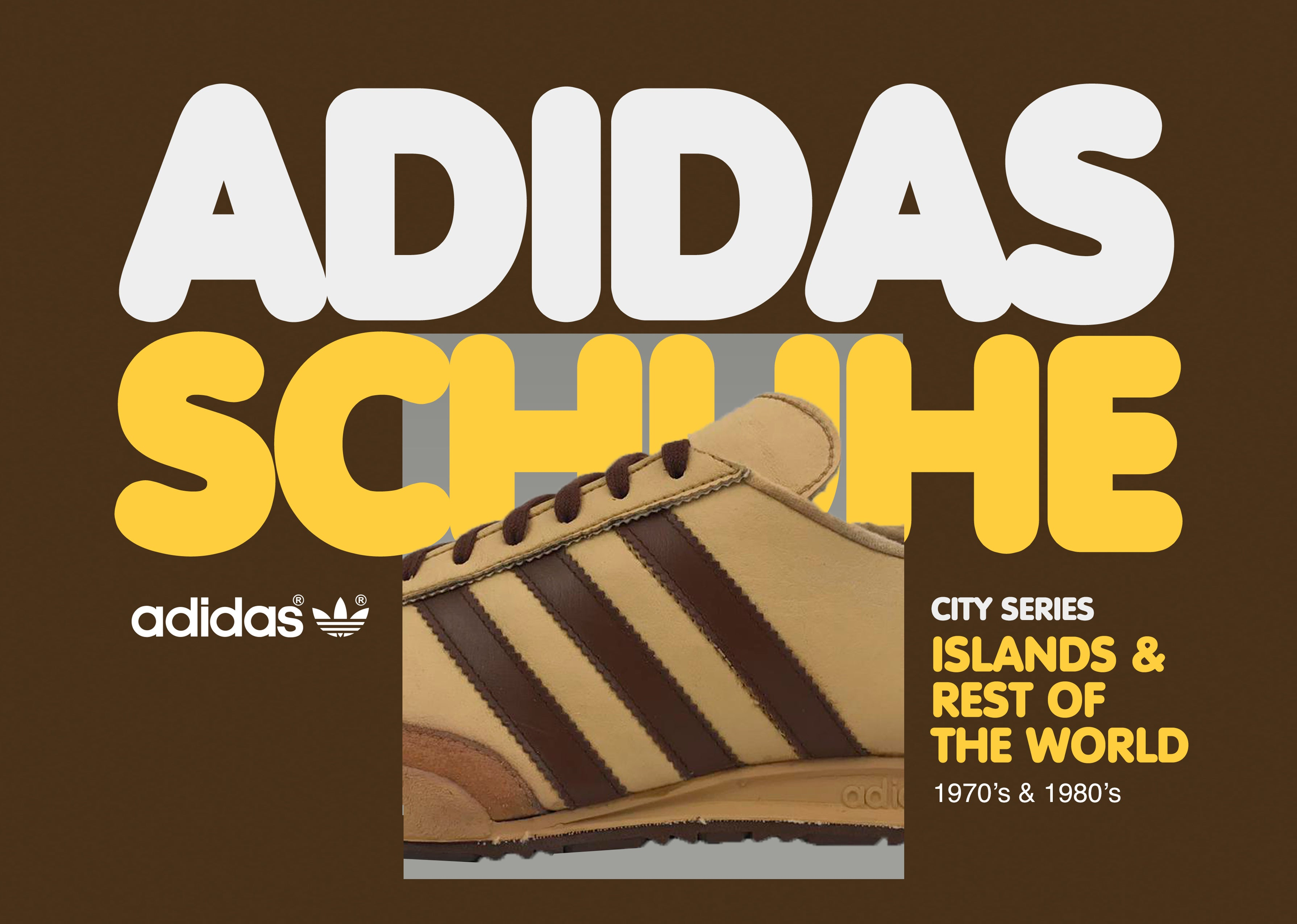 Vintage Adidas Schuhe Islands and Rest of the World Book