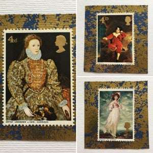 Image of Historical Paintings (Stamps) Card Selection