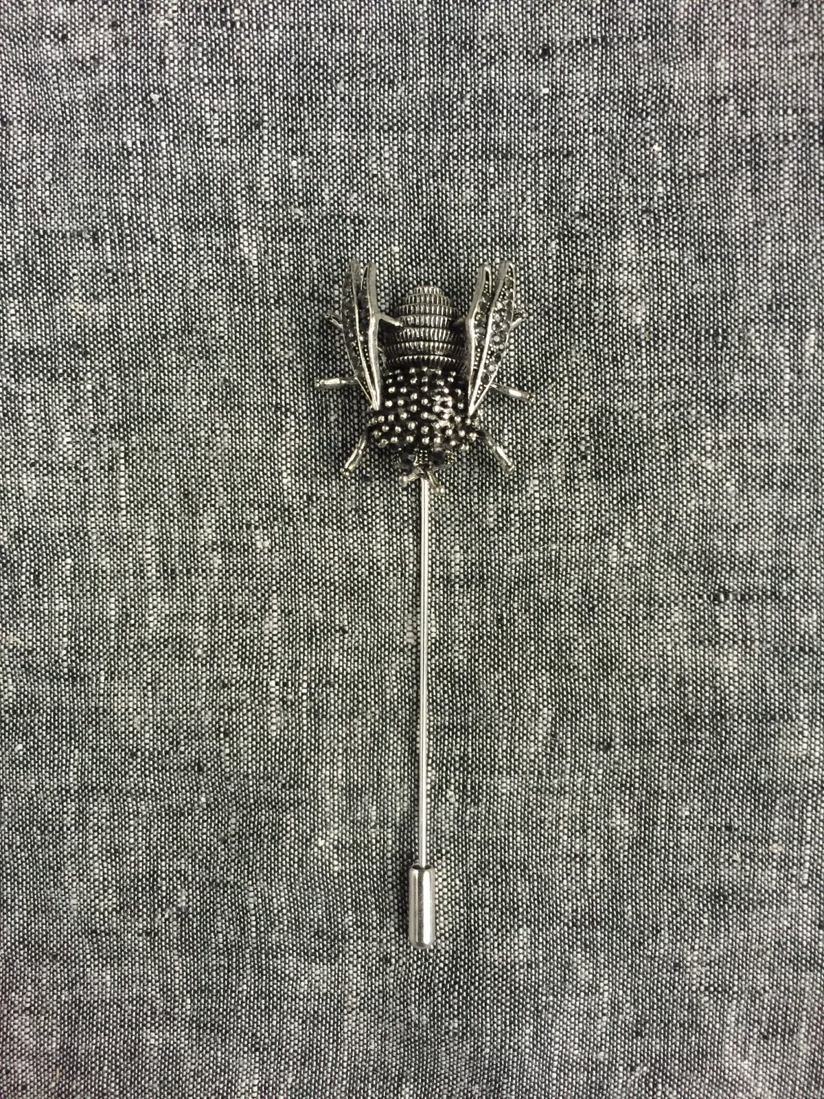 Image of The Silver Bee Lapel Pin