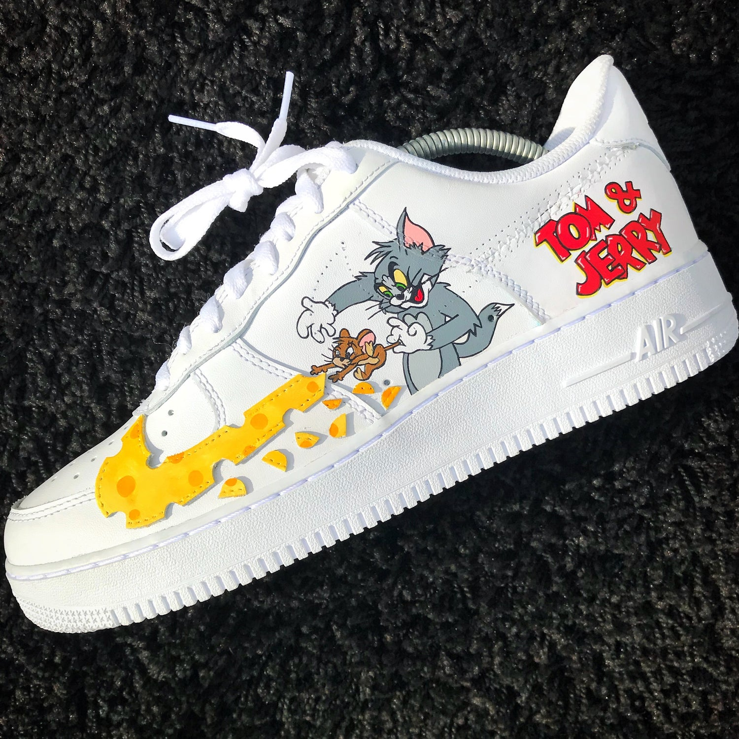 new style a6268 9c194 tom jerry inspired air force 1