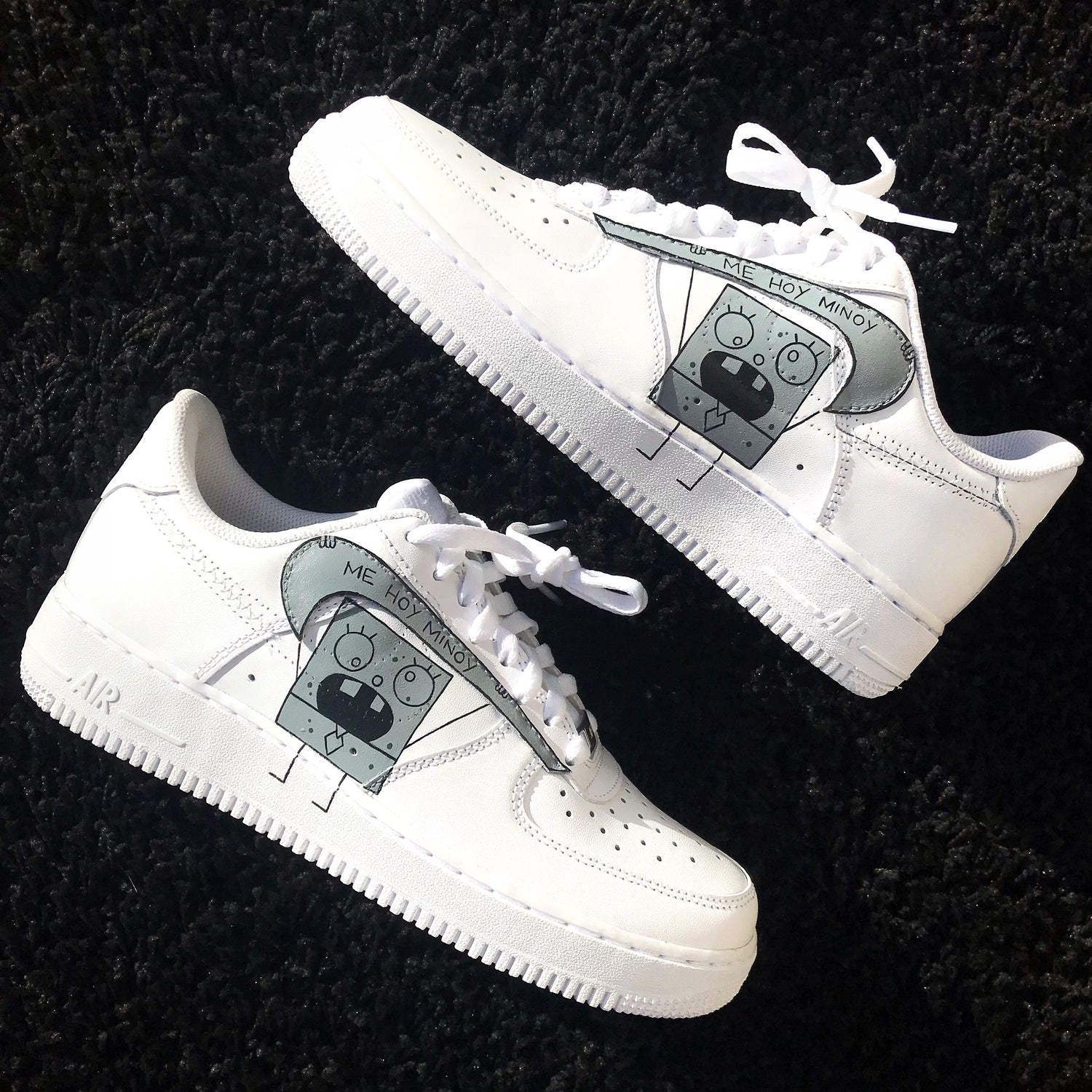 get new new product best website Doodlebob Inspired Air Force 1 | SMcustomsIE