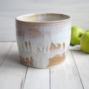 Image of Utensil Holder, Handcrafted Stoneware, Large Capacity Kitchen Utensil Caddy, Made in USA