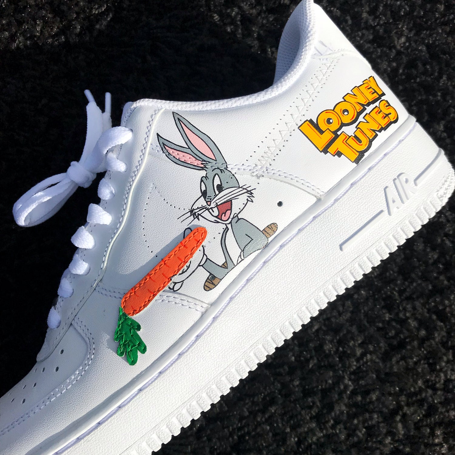Bugs Bunny Inspired Air Force 1