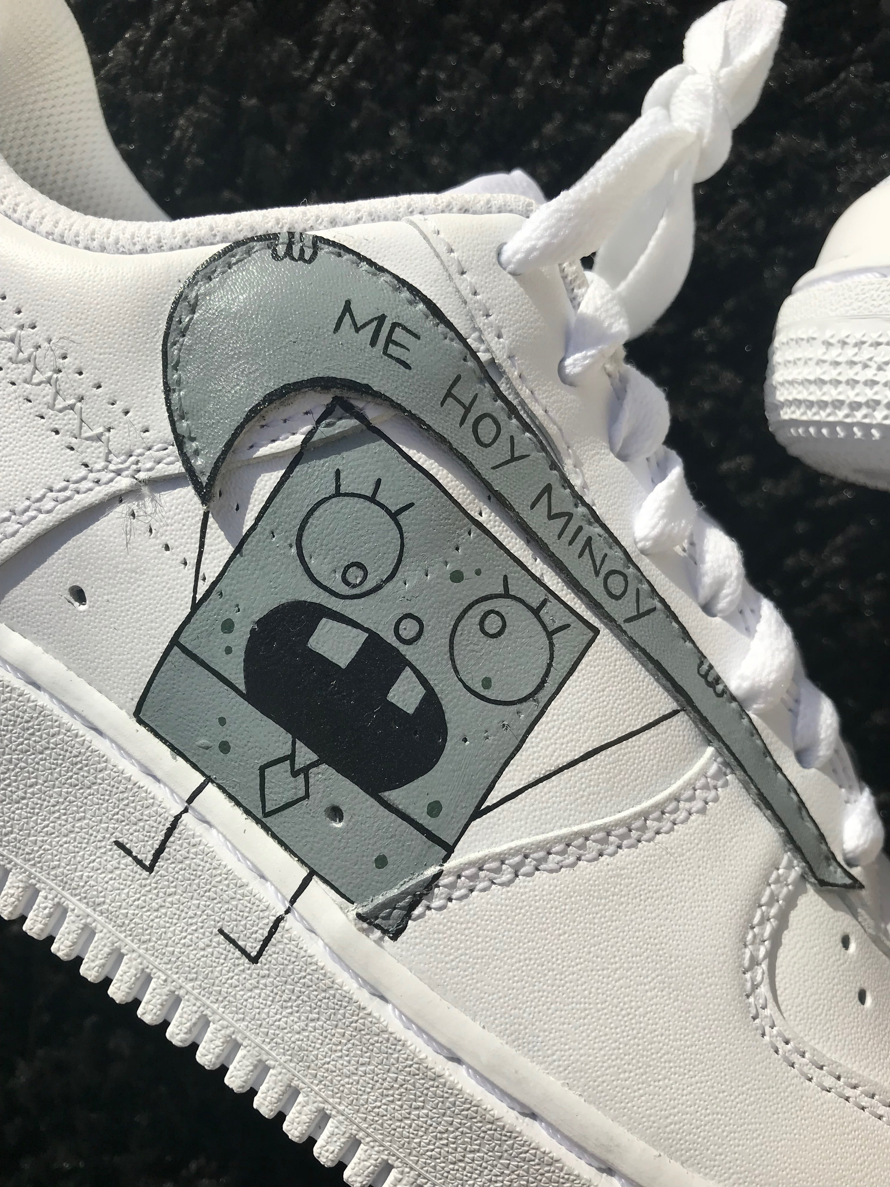 Doodlebob Inspired Air Force 1