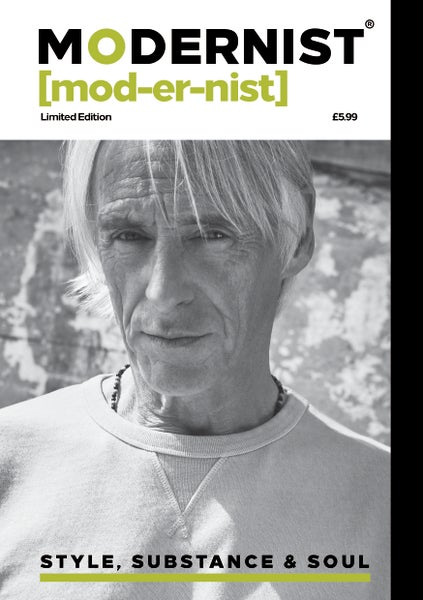 Image of Modernist Magazine With Name In Credits.