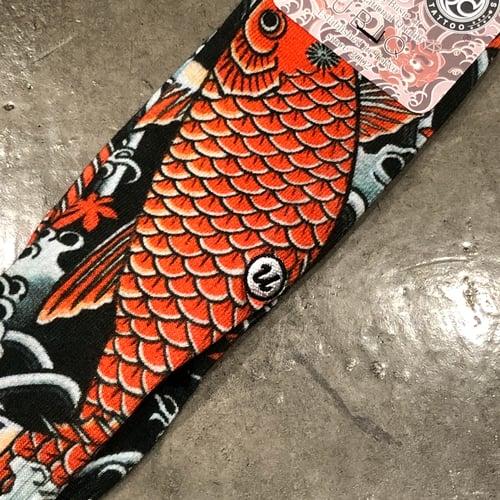 Image of IREZUMI SOCKS RED KOI by ICHIBAY