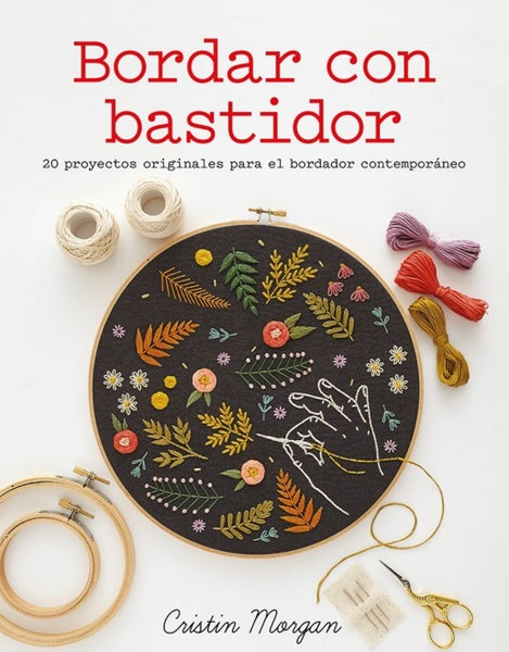 Image of Bordar con bastidor de Cristin Morgan