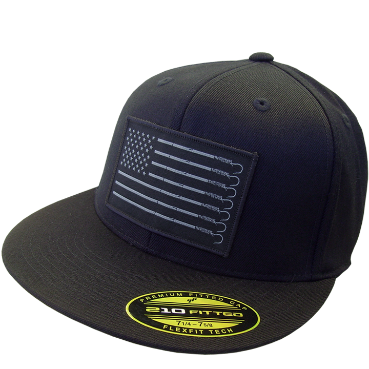 Image of Trust 210 Fitted Hat (black)