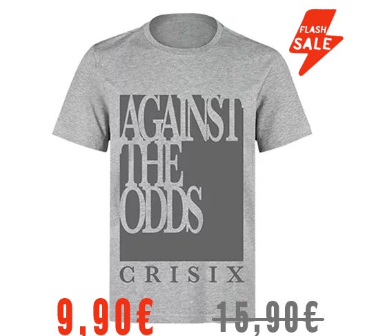 Image of Against The Odds Gray Tee