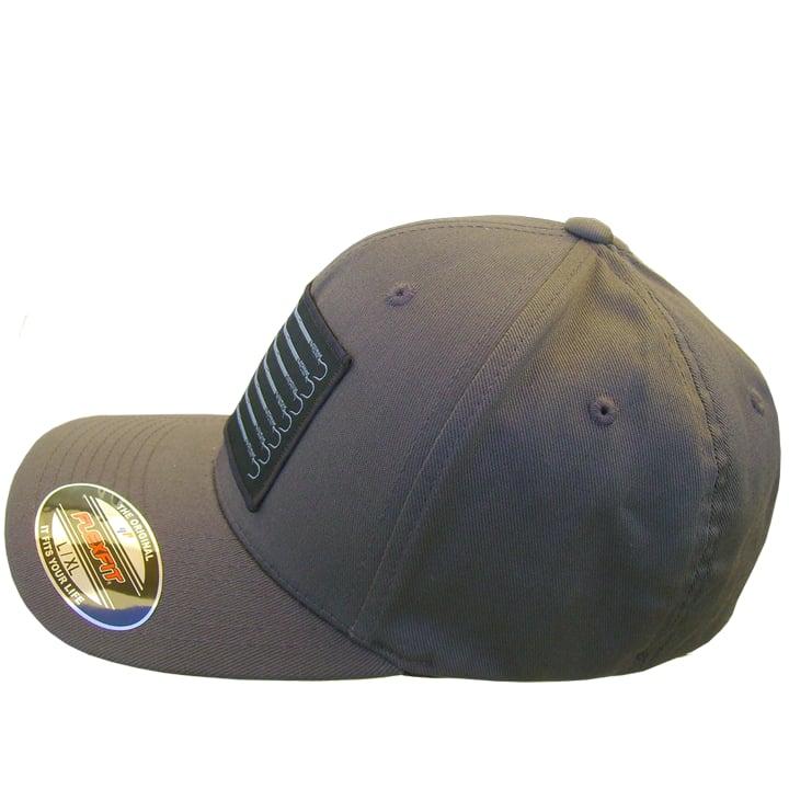 Image of Trust Flexfit Buck Bill Hat (gun metal)