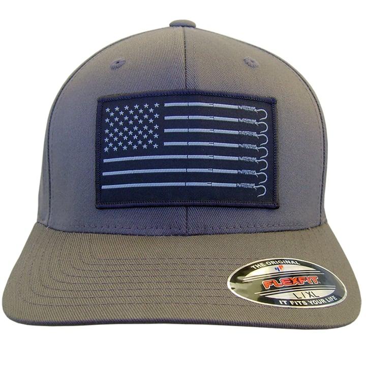 Image of Trust Flexfit Hat (gun metal)