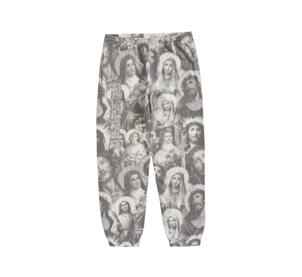 Image of Supreme Jesus and Mary Hoody & Sweatpants