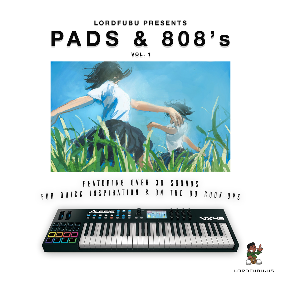 Image of PADS & 808's VOL. 1