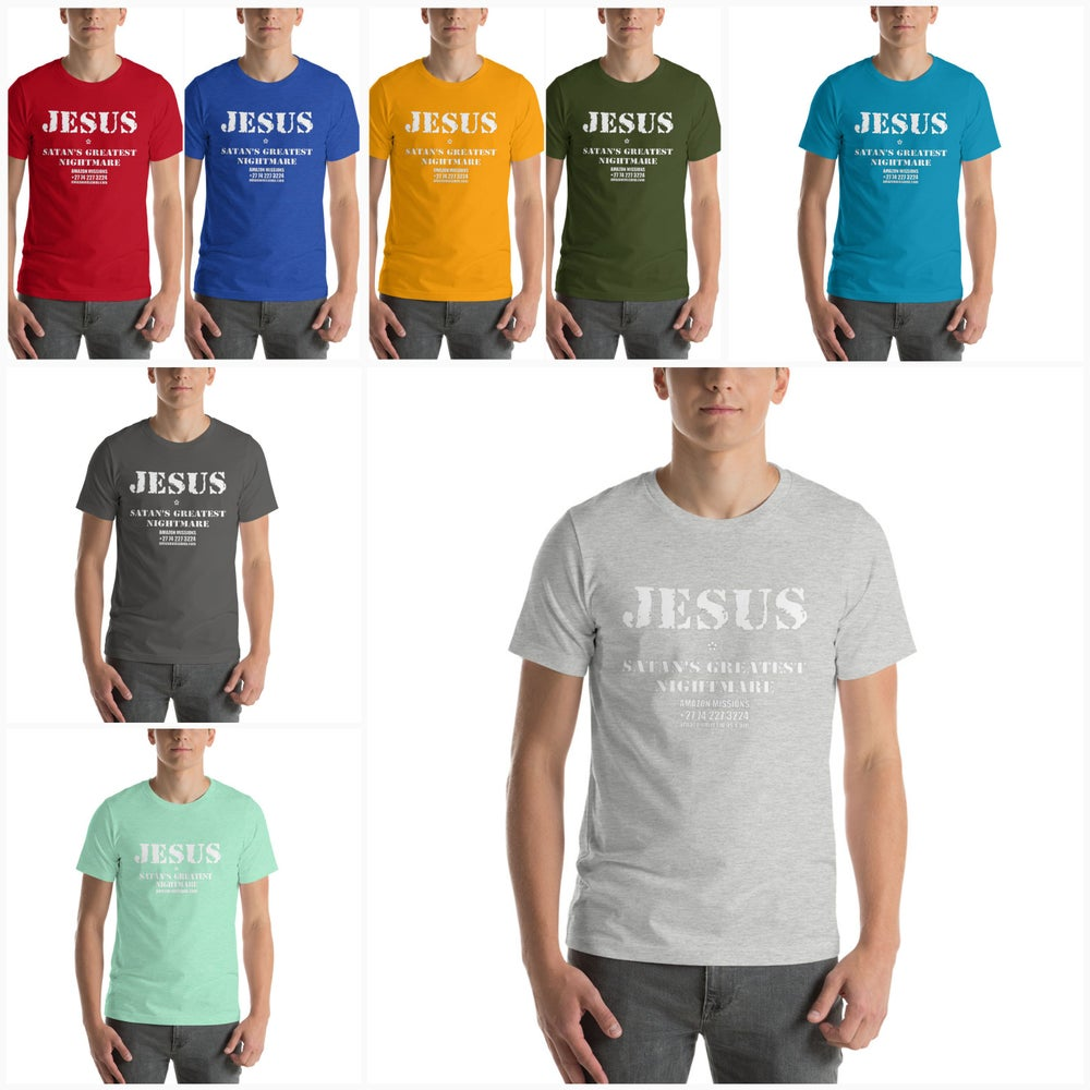 Image of JESUS T-Shirt Various Colours