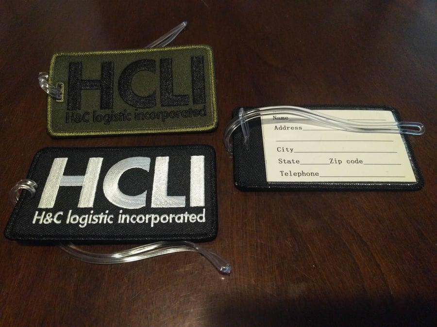 Image of HCLI Luggage Tag