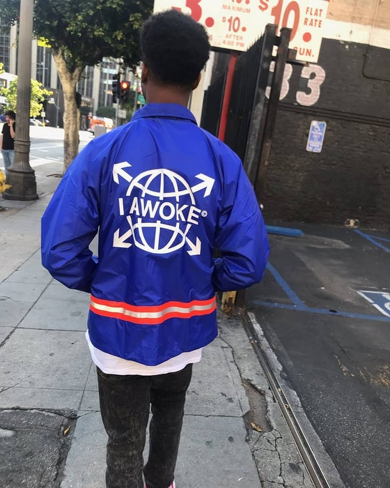 Image of I Awoke Coach Jacket/London Windbreaker