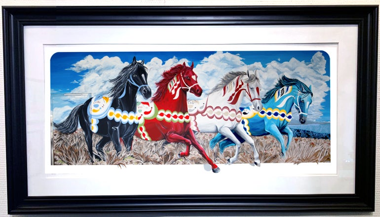 Image of The Horses Of Sweden - EDITION PRINT