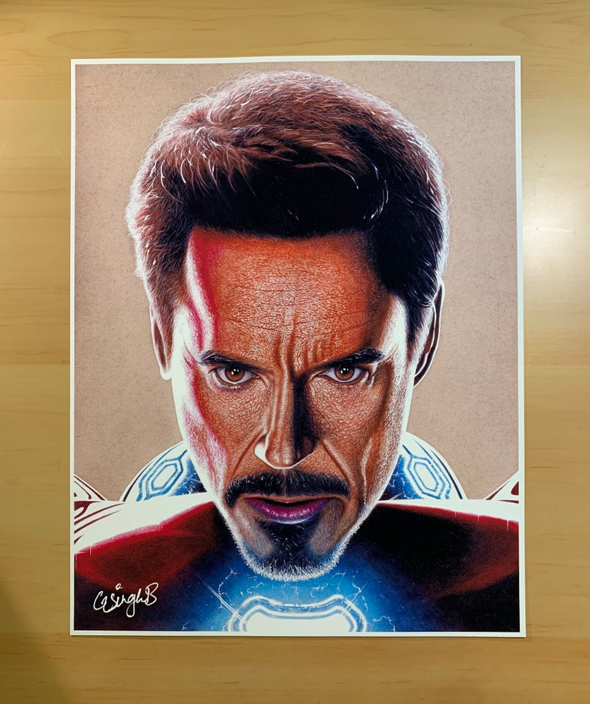 Image of Iron Man (Print)
