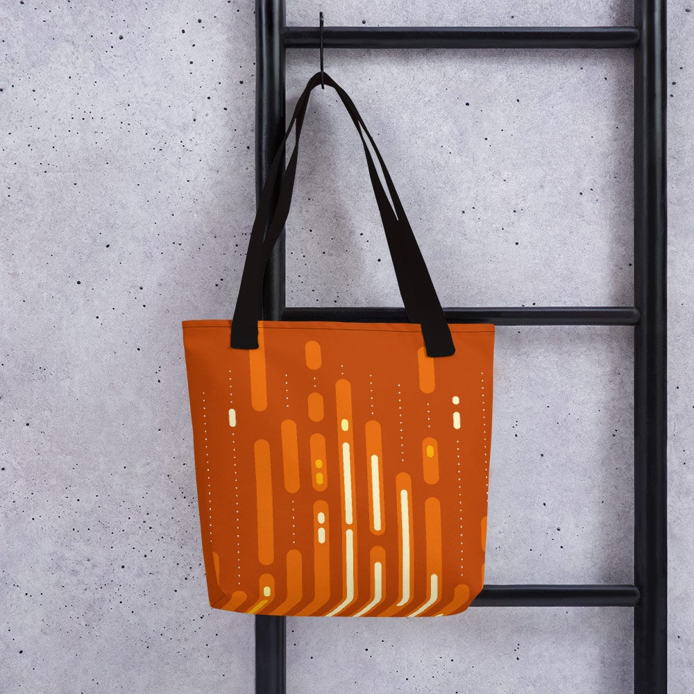 Image of Mid-Century Sunset Tote Bag