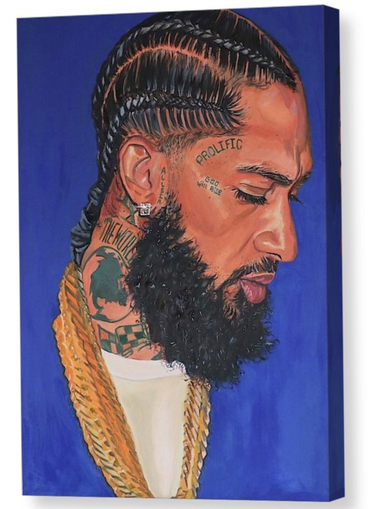"Image of ""Hussle"" Limited Edition Canvas Prints"