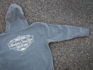 Image of Tradition Pullover Hood ( GUNMETAL HEATHER )