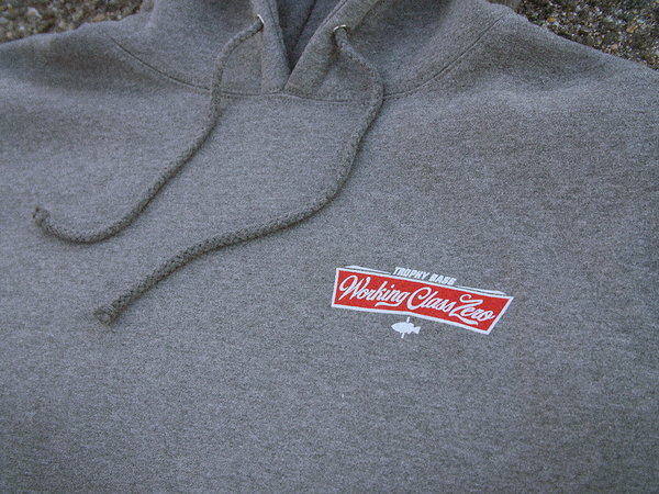 Image of Tradition Hood ( GUNMETAL HEATHER )