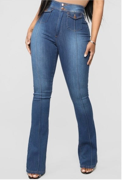 Image of Kroy High Waist Jeans