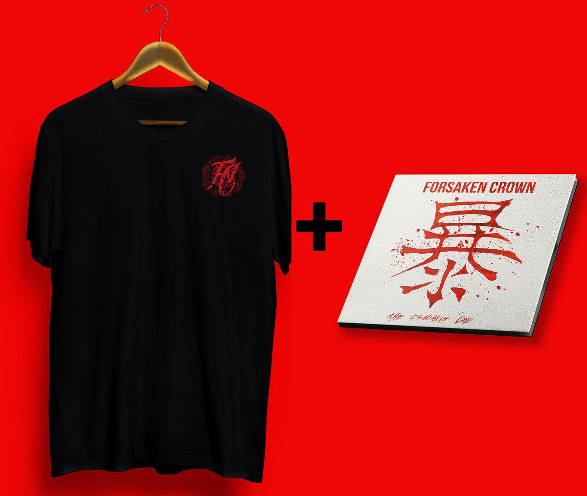 Image of T-shirt Kanji + CD