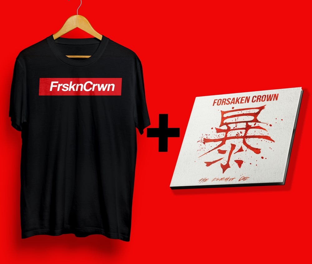 Image of T-Shirt FrsknCrwn + CD