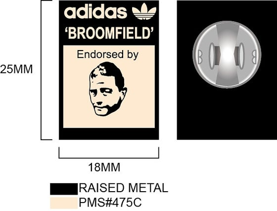 Image of Broomfield badge & raffle entry