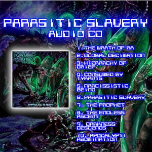 Image of Parasitic Slavery Audio CD