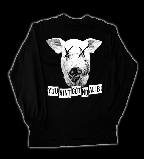 Image of Pig Logo Long Sleeve T-Shirt