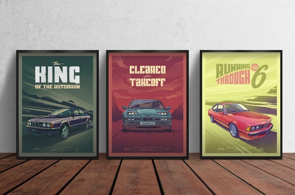 Image of Retro Trio Poster Set (PRE-ORDER)