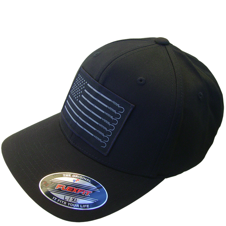 Image of Trust Flexfit Buck Bill Hat (black)