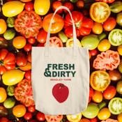Image of Fresh & Dirty tote bag
