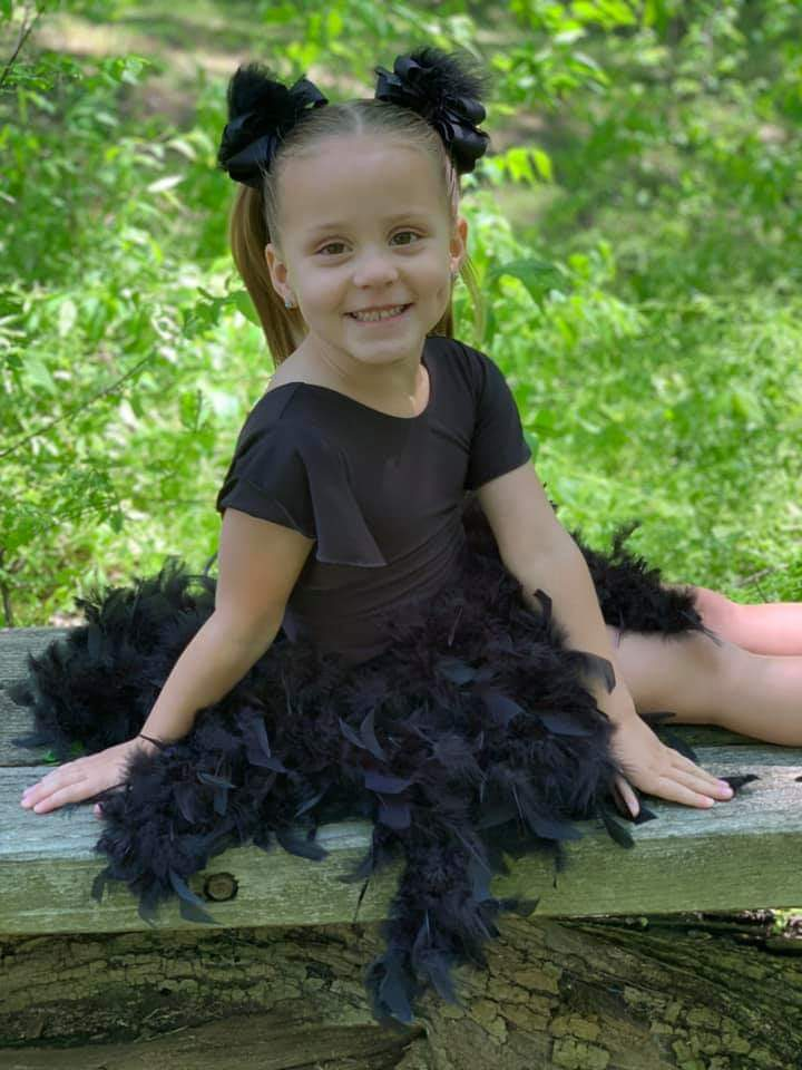 Image of Black Feather Tutu