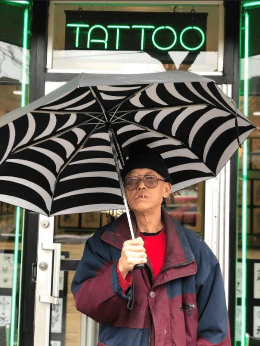 Image of Web Umbrella