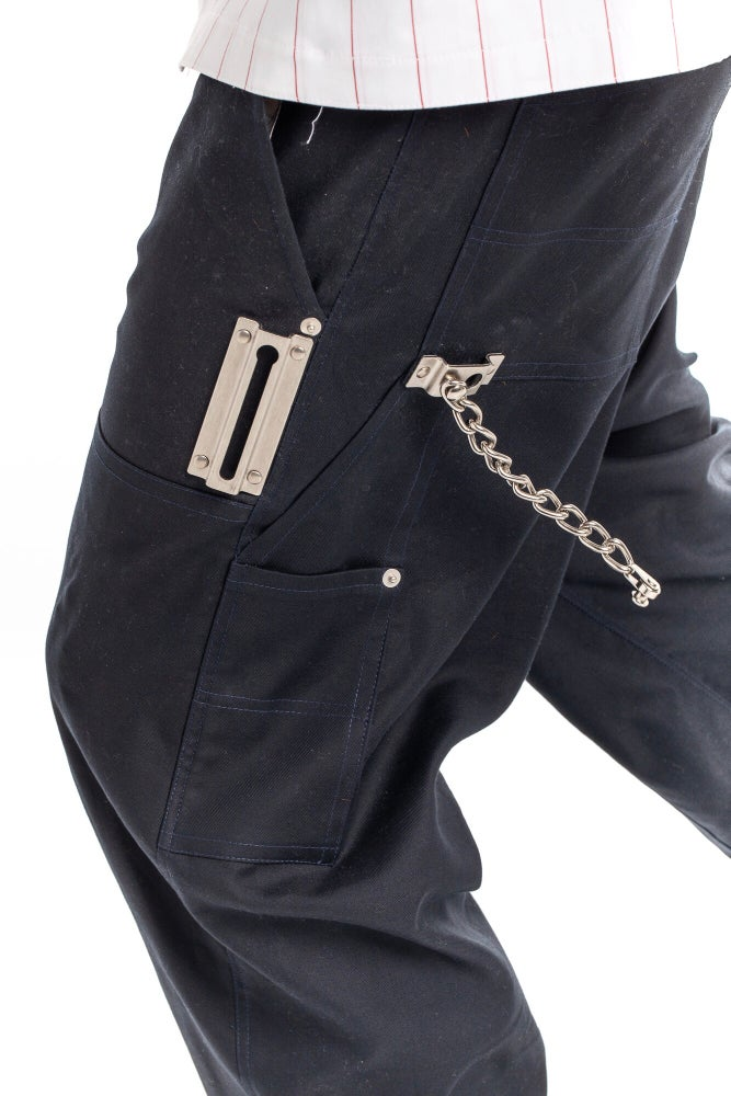 Image of HARDWARE DOOR-CHAIN HAMMER LOOP CARPENTER PANTS