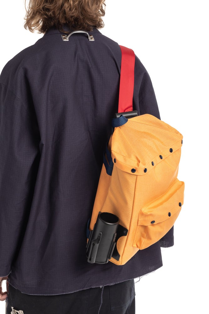 Image of HARDWARE STANCHION BACKPACK