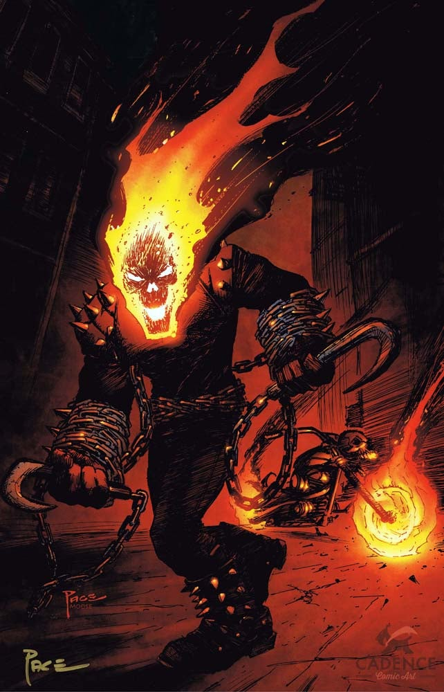 Image of Ghost Rider Print by Richard Pace (Signed)