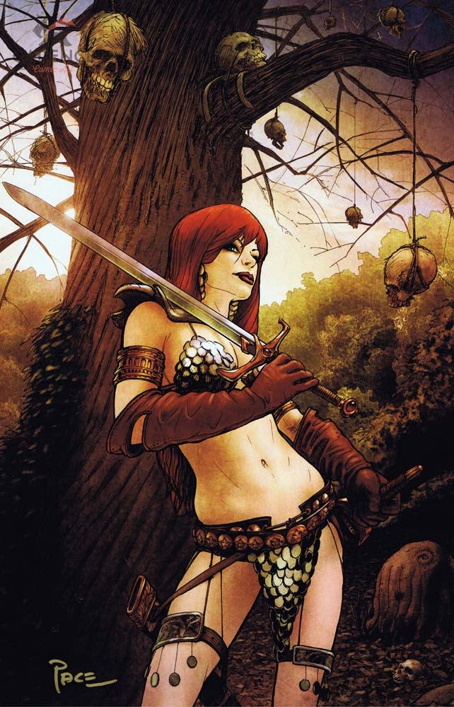 Image of Red Sonja Print by Richard Pace (Signed)