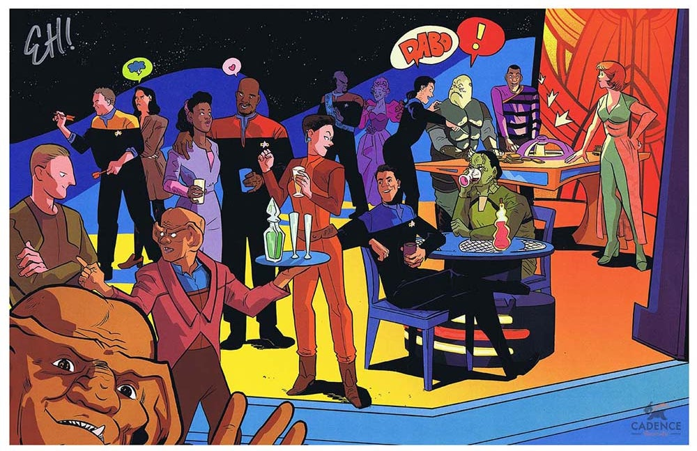 Image of Quark's Bar Print by Erica Henderson (Signed)