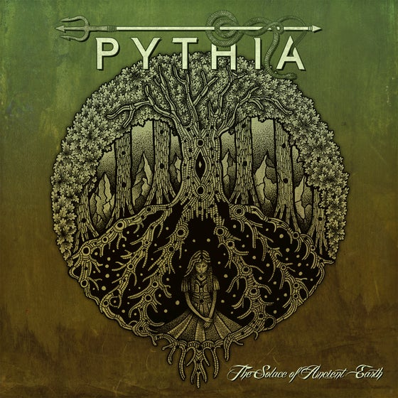 Image of PYTHIA – 'The Solace of Ancient Earth' CD (2019)