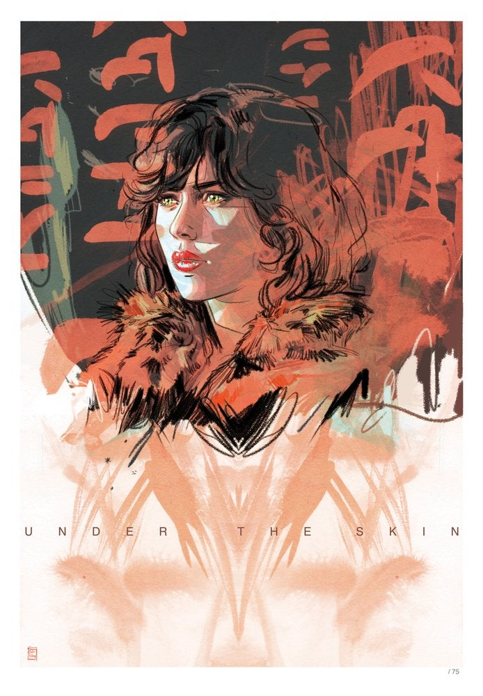 Image of Under the Skin - Signed Limited Edition Indigo Print by Tula Lotay (Artist's Proof)